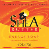 Energy Shea Butter Soap