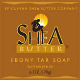 Ebony Tar Shea Butter Soap